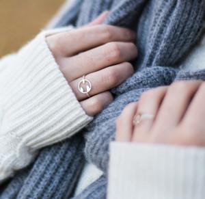 prezenty świąteczne dla dziewczyn ikobiet - pierścionek KAVOdesign