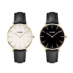 prezenty świąteczne dla dziewczyn ikobiet - zegarek Cluse narękę