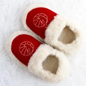 prezenty świąteczne dla dziewczyn ikobiet - kapcie zwełny owczej odLunaby