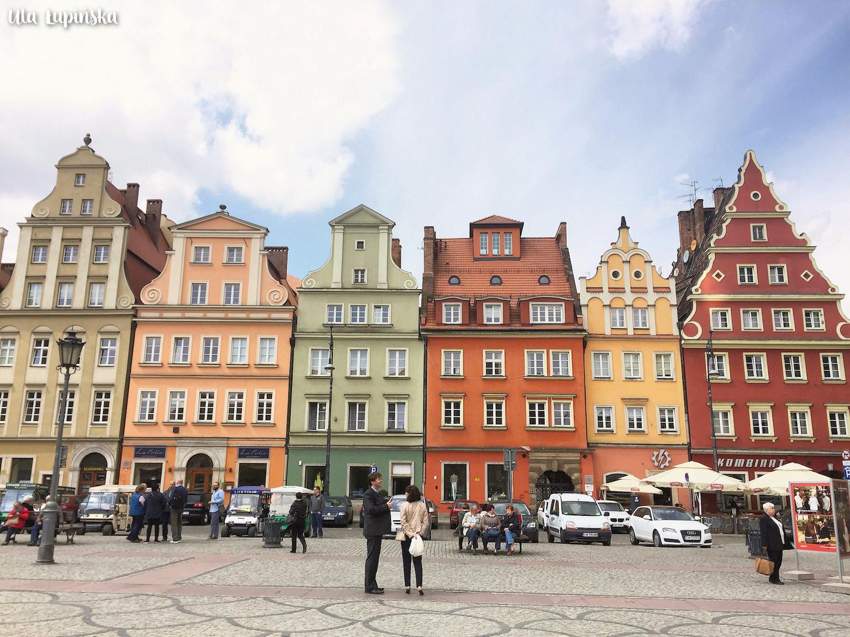 Wrocław naweekend – kolorowe kamieniczki