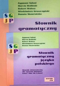 słownik gramatyczny języka polskiego sgjp