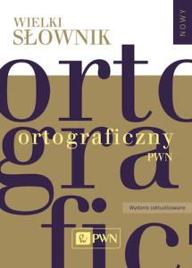 wielki słownik ortograficzny wso pwn